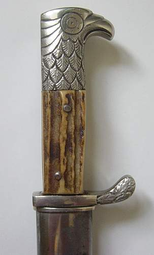 Click image for larger version.  Name:Schutzpolizie bayonet 002.jpg Views:152 Size:100.5 KB ID:82616