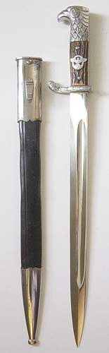 Click image for larger version.  Name:Schutzpolizie bayonet 004.JPG Views:110 Size:194.8 KB ID:82618