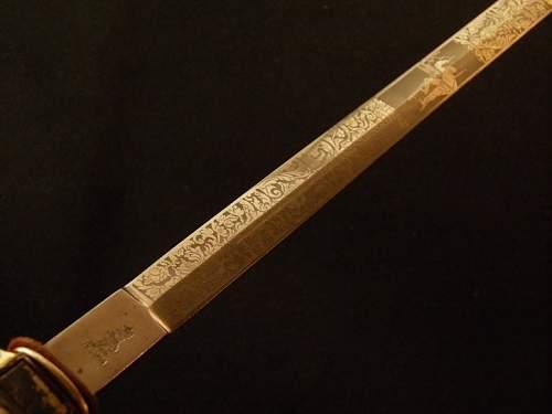 E Pack Fire Official's Dagger