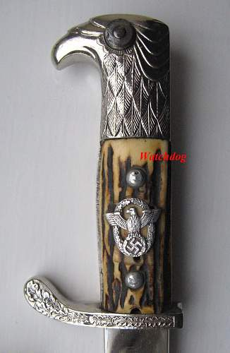 WKC Police Bayonet