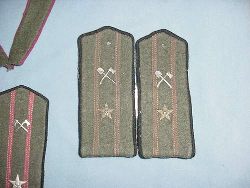 WWII Shoulder Board Collection