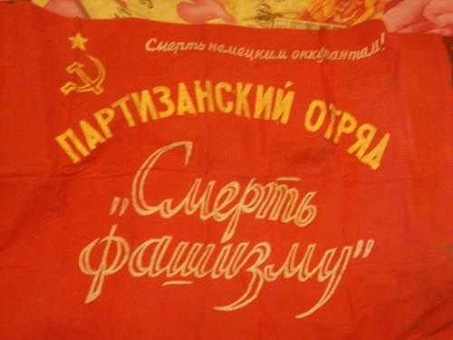 Original WW2 Soviet Flag?