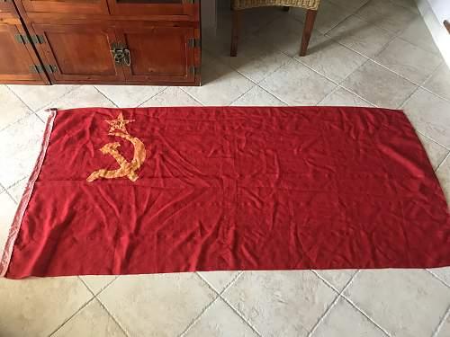 WW2 Era Soviet flag