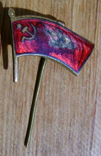 Soviet Stick Pin WW2?