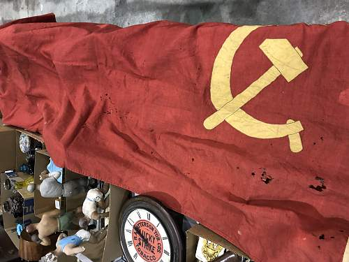 Desperatly looking for thoughts WW2 Soviet Russian Flag!?!?
