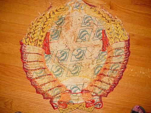 Soviet CCCP 11 Republics Crest - Hand Made