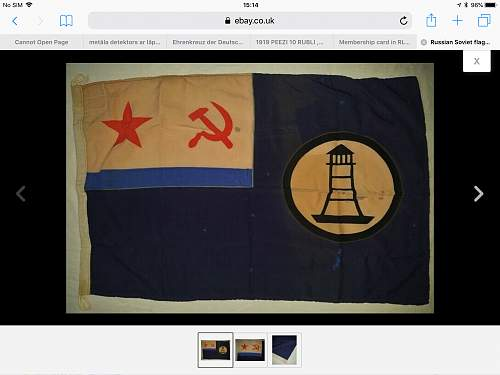 Soviet navy flag????
