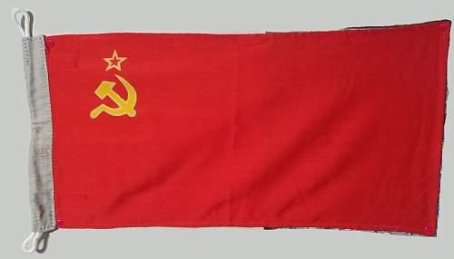 Soviet Naval Flag