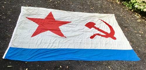 USSR Navy Flag