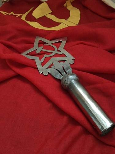 Soviet Flagpole top