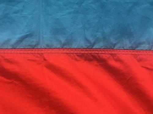 Ukraine SSR flag, is it real?