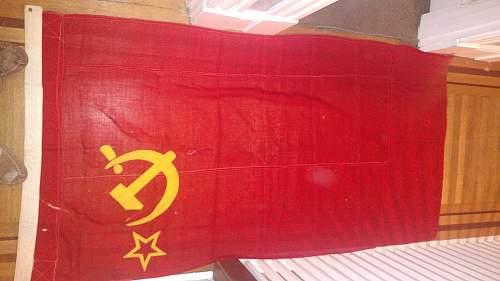 WWII Era Soviet Flag?