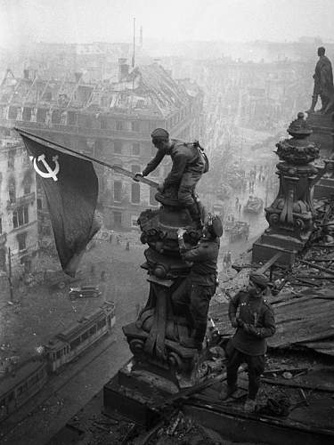 75th Anniversary of the 1st Soviet Flag raised over the Reichstag