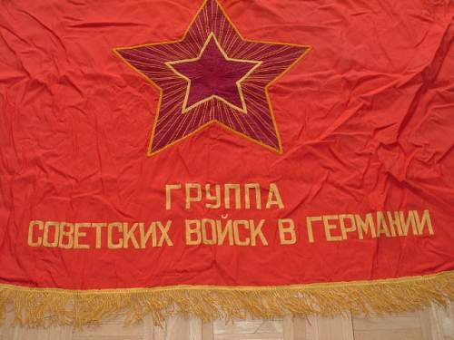 Group Of Soviet Forces in Germany Flag
