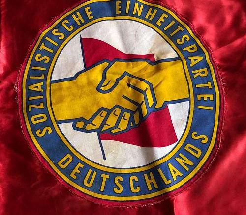 East German Soviet Banner
