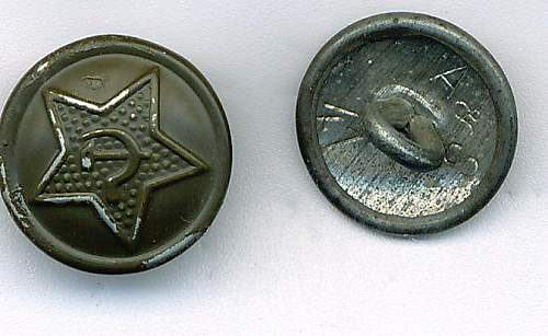 Interesting button, made after 1945 in Germany