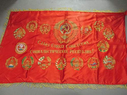 Soviet competition flag