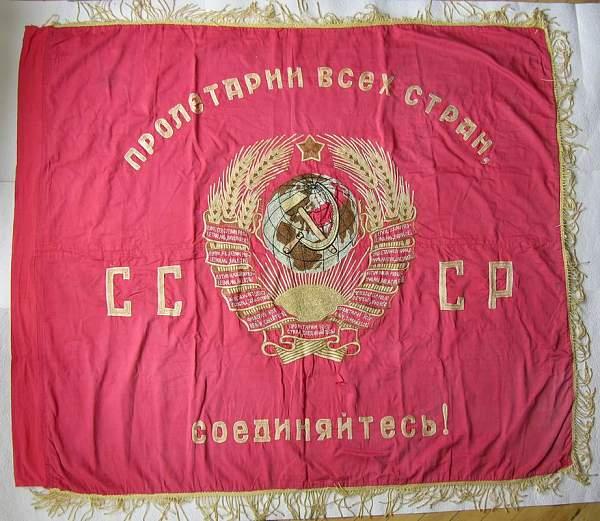 WWII Soviet Flag ??