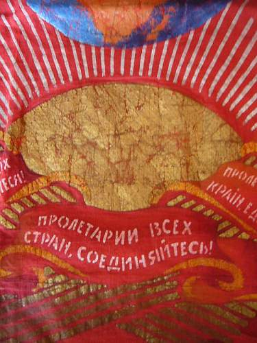 Show your Soviet flag collection!