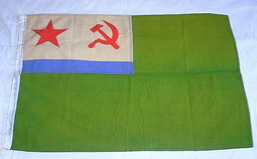 Collection of Soviet Military Flags