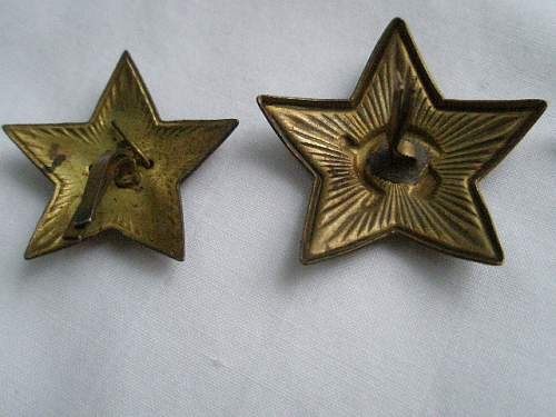 Soviet Rank Pips? Cap Stars, LW Coin Purse/UNIQUE!!