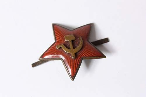 Red Army star -WW2 ?