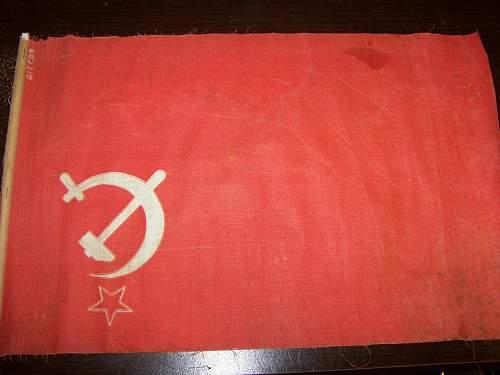 Pre-1955 Soviet Flag?