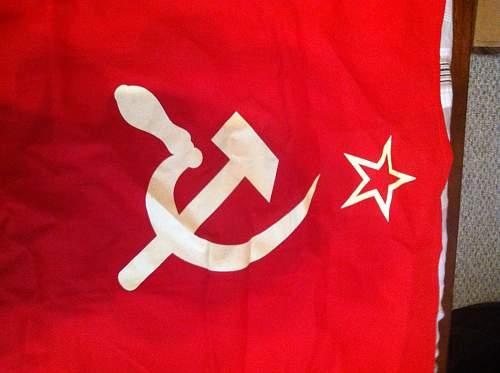 1978 CCCP Flag Find