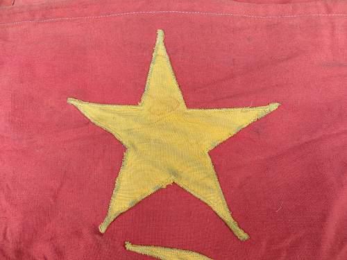Soviet flags ,rare?