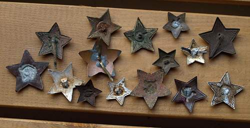 Is this a WWII enameled star?