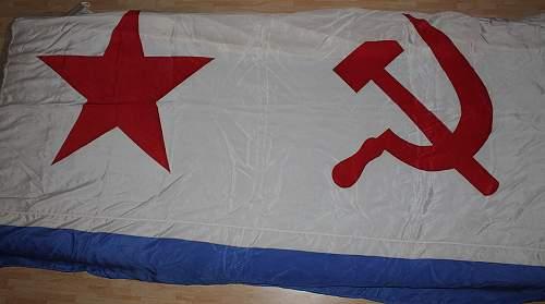 Soviet Navy Flag