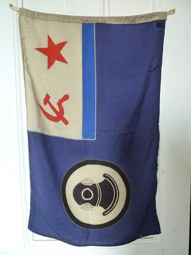 Navy Divers Flag