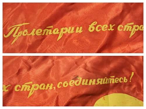 Old soviet union flag ???