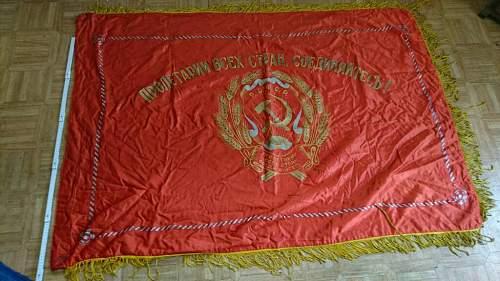 WW2 USSR Flag?