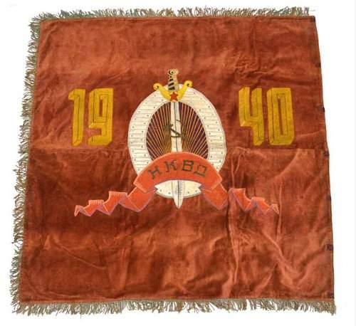 Old NKVD flag