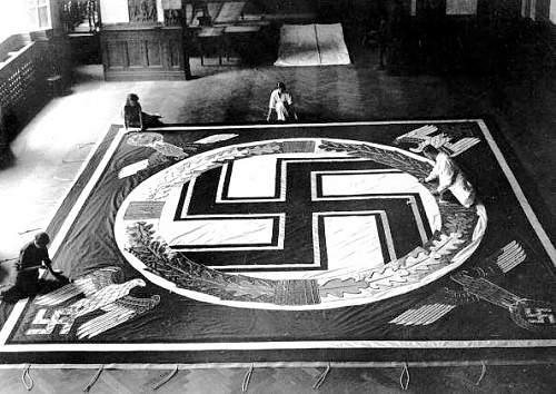 Giant Nazi / AH flag