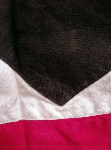 "Large Nazi Pennant/Flag - 63"" x 29"" - Any Ideas? Fake or Genuine?"