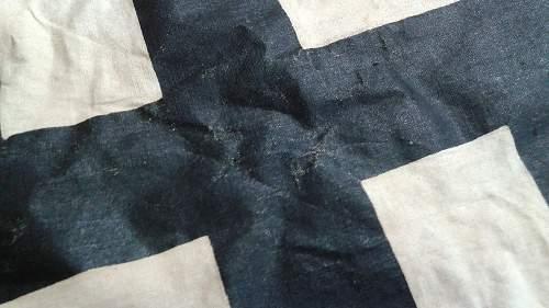 WW2 German Funeral Flag?