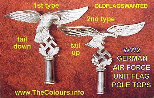 Luftwaffe 1st pattern pole top