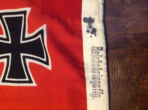 KM flag  any info welcome