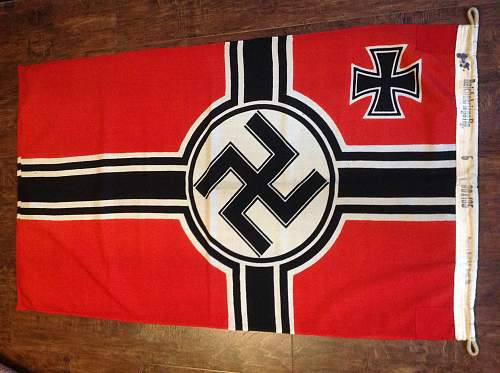 KM flag  any info welcome