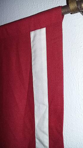 Need help with authenticity of podium flag