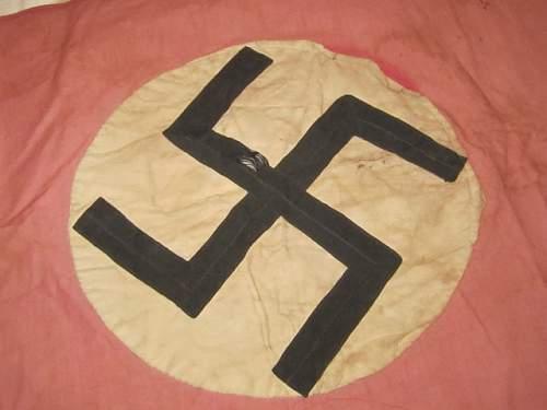 Skinny Swastika Flag.