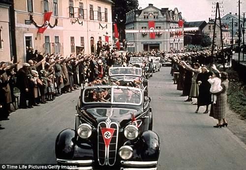 NSDAP Vehicle Flag
