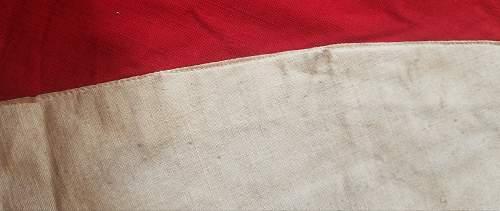 massive NSDAP flag