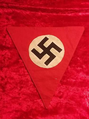 Unknown Reich pennant