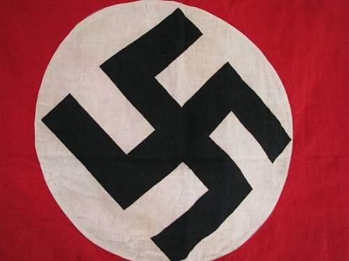 NSDAP Flag: Authentic period piece?