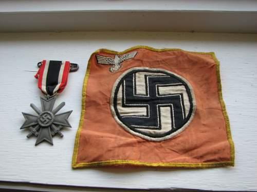 Identify small flag