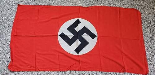 NSDAP double-sided flag/banner 58x30