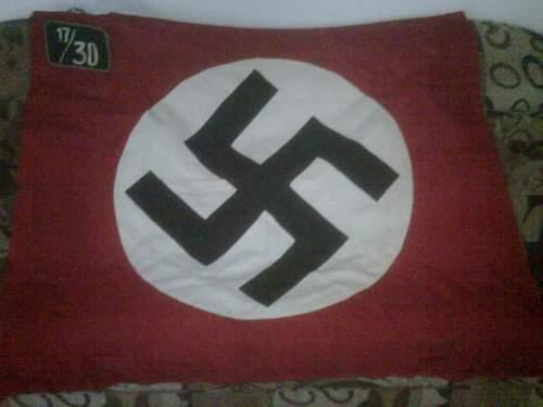 Unit Designator on this flag?